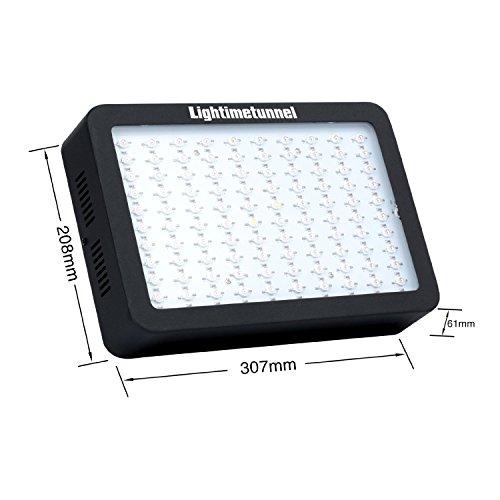 Lightimetunnel 300W LED Grow Lampe Vollspektrum Wachsen Beleuchtung ...