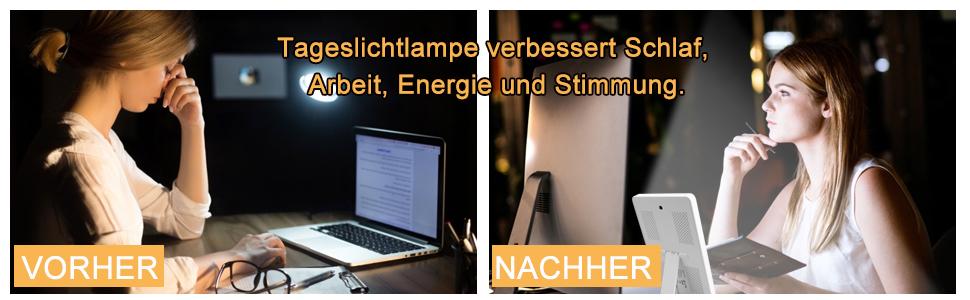 tageslichtlampe lichttherapie tageslicht lichtwecker wake up light 9